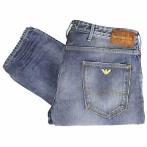 EMPORIO-ARMANI-J06-Slim-fit-lavaggio-medio-duro-Denim-Jeans
