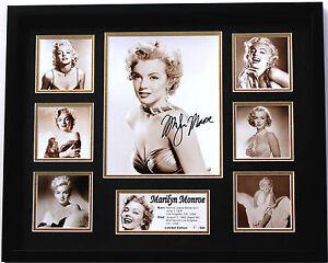 New-Marilyn-Monroe-Signed-Limited-Edition-Memorabilia-Framed
