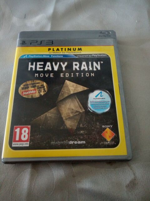 HEAVY RAIN MOVE ÉDITION  PS3 TRES BON ETAT SONY 18