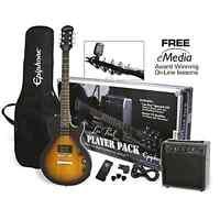 Epiphone Les Paul Special Ii Electric Guitar Player Pack - Vintage Sunburst .