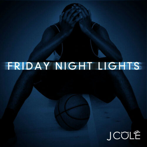 J Cole Friday Night Lights Mixtape Hip Hop Art Cover Silk Cloth Poster D-746