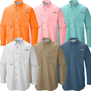 New-Mens-Columbia-PFG-034-Bonehead-034-Vented-Long-Sleeve-Fishing-Shirt-S-M-L-XL-XXL