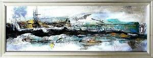 OLBILD-OLGEMALDE-GEMALDE-BILD-ABSTRAKT-GEMALDE-MIT-RAHMEN-G17467
