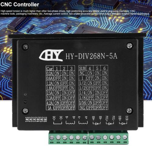 HY-DIV268N CNC Single  TB6600 0.2-5A  Biphase Stepper Motor Driver