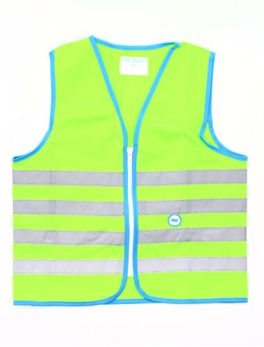 WOWOW Reflexweste Fun Jacket Fahrrad Bike Sicherheit Signalweste Kinder grün S