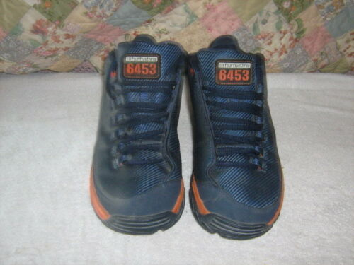 us Vtg Air Nike Taille basket 9 6453 Bleu 1999 ball Baskets Homme orange de zq4fUU