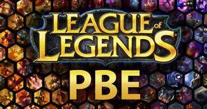 League of Legends LOL - PBE Account ###CHEAPEST### - <span itemprop='availableAtOrFrom'>Laatzen, Deutschland</span> - League of Legends LOL - PBE Account ###CHEAPEST### - Laatzen, Deutschland