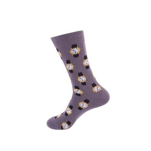 40 Styles Mens Cotton Socks Animal Fruit Novelty Funny Casual Soft Sock Wedding