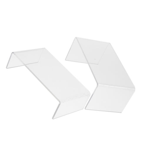 Acrylic Stand Shelf for    Pop Figure Display 3-Tier Show Rack