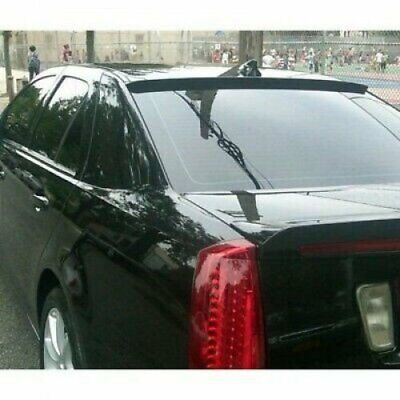 Flat Black 280 BRS Type Rear Roof Spoiler Wing For 06~09 Cadillac STS-V Sedan