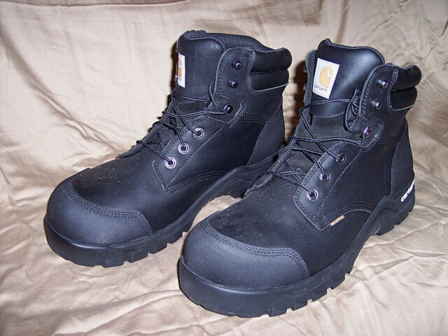 7b072c80a3d Carhartt Rugged Flex 6 Inch Men's Black Waterproof CSA Work BOOTS 9w