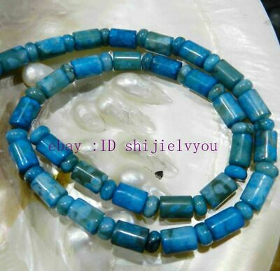 """TEARDROP-SHAPED 13x18MM LARIMAR BLUE CRAZY LACE AGATE AGATE LOOSE BEADS 15/"""""""
