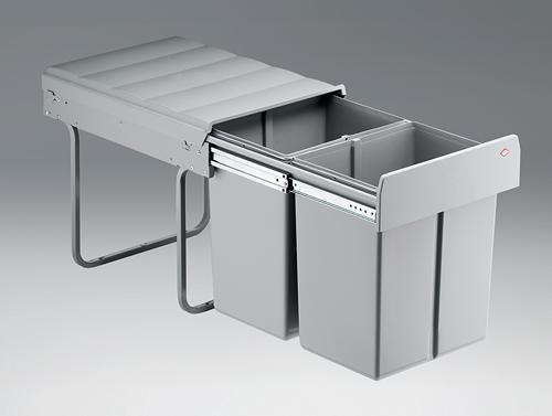 Einbau Abfallsammler Wesco Double-4 Abfalleimer Küche | eBay