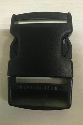 50MM PLASTIC DELRIN SIDE RELEASE BUCKLES FOR WEBBING BAGS STRAPS CLIPS 20MM
