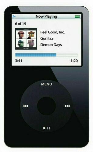 Apple iPod Classic 5ª à 7ª Geração (30GB, 60GB, 80GB, 120GB, 160GB)
