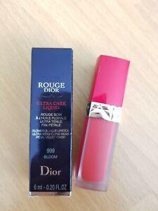Dior Rouge Dior Ultra Care Liquid lipstick lip colour in 999 Bloom