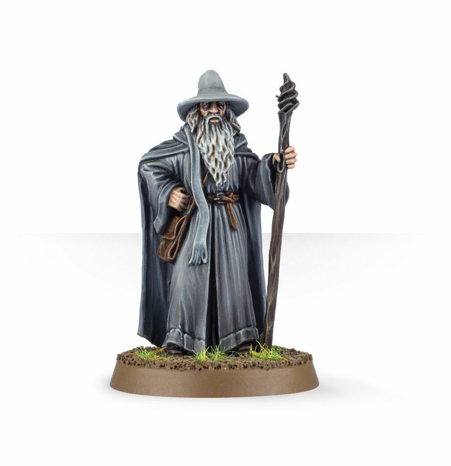 Games Workshop The Hobbit Gandalf the Grey Middle Earth Finecast Finecast Finecast New BNIB LoTR 5dc31f
