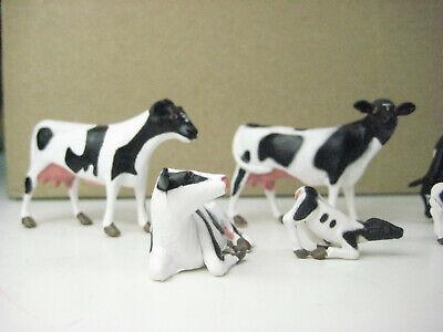Aspirante Bachmann Traccia - 0-personaggi Wa2724-holstein Vacche-mostra Il Titolo Originale Forte Resistenza Al Calore E All'Usura Dura