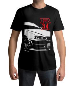 Nissan Skyline R34 GTR T-shirt GT-R Street Style