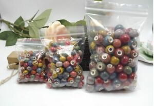50pcs-Ceramic-Beads-Large-Handmade-Flower-Porcelain-DIY-Craft-Bracelet-Making