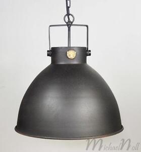 DECKENLAMPE DECKENLEUCHTE LOFT INDUSTRIE LAMPE INDUSTRIAL LOOK ...