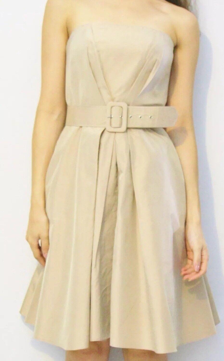 savingglory JAYSON BRUNSDON Cocktail Dress Silk Formal Hepburn AU 8 Eu 36 US 4