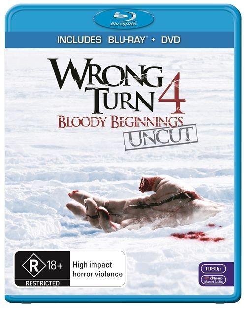 Wrong Turn 4: Bloody Beginnings - BLU-RAY - Region B