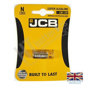 4-X-Jcb-LR1-1-5V-Super-Alkaline-Batterie-n-Mn9100-Lr1-E90-A34-AM5