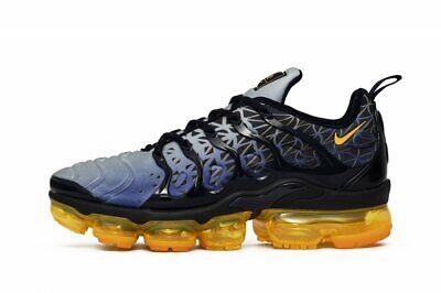 Nike Air Vapormax Plus Mens Running Shoes 9.5 Obsidian Laser Orange 924453-406