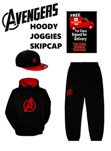 AVENGERS-Youth-Snapback-amp-or-hoody-amp-or-Joggies-PERSONALISED-FREE