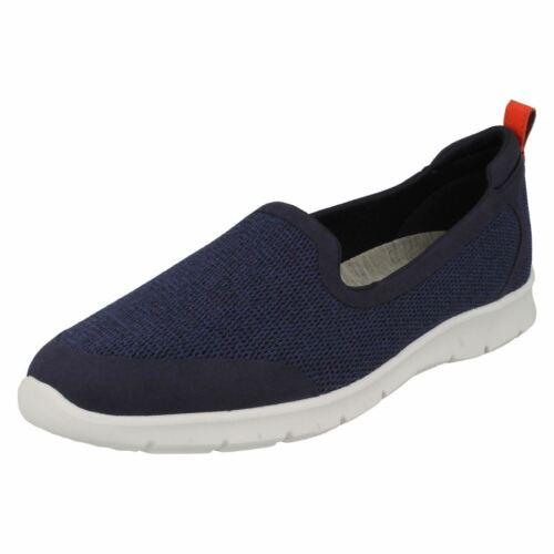 Step Slip Allena Navy Clarks Mesh Sneakers Cloudsteppers Damen Lo on 8nN0myvwO