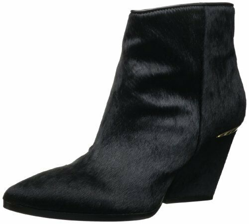 Boutique 9 Isoke5 Women's Ankle Heeled Wedge Booties Boots