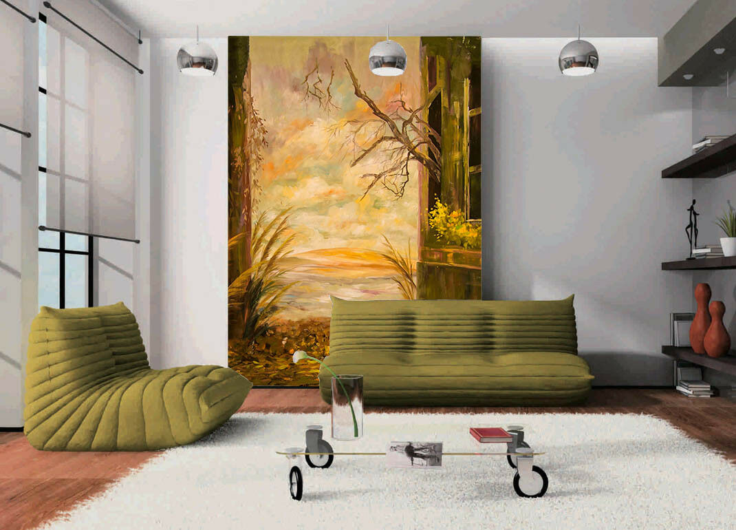 3D Plant Room Room Room Scenery 4 Wall Paper Wall Print Decal Wall Deco Indoor Mural Carly eb5d74