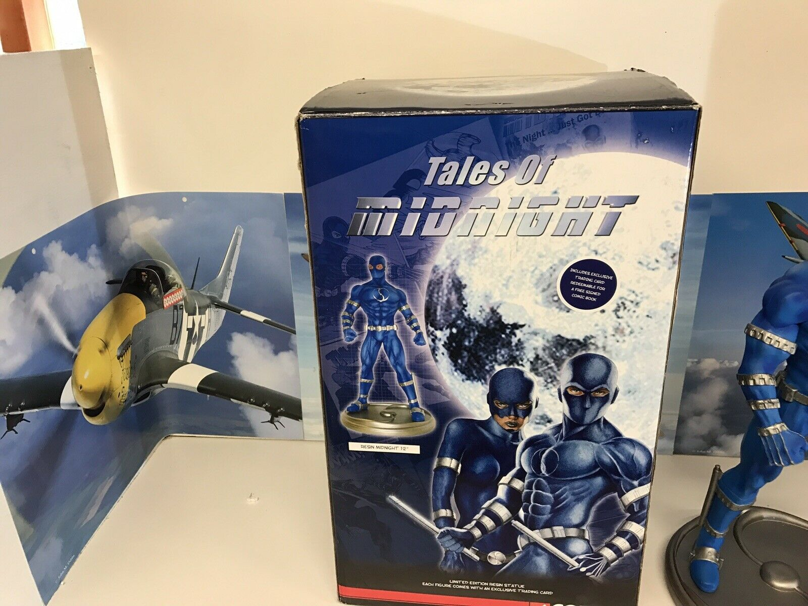 TALES OF MIDNIGHT 12  LIMITED EDITION EDITION EDITION RESIN  STATUE CORGI NUMBErot OF 1500 1d753f