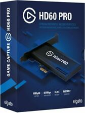 Elgato Game Capture Hd60 Pro Stream and Record in 1080p60 Superior Low  Latency