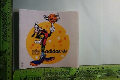 Alter Aufkleber Sport Kleidung Schuhe ADIDAS Handball Walt Disney Goofy | eBay