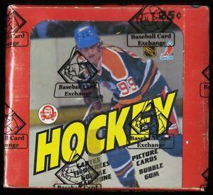 RARE-1982-O-Pee-Chee-OPC-Hockey-Wax-Box-48ct-Packs-Wayne-Gretzky-BBCE-AUTHENTIC