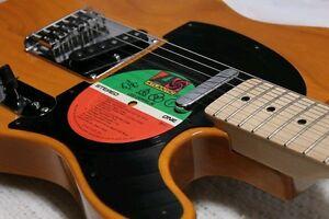 Album Lp Record Pickguard Fender Telecaster Tele Led