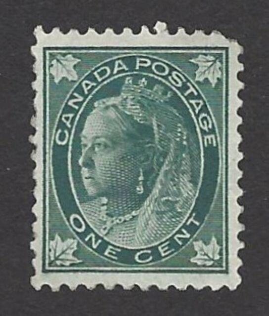 Canada sc# 67  Queen Victoria , Green 2C 1897 MNH, NH PLS read description