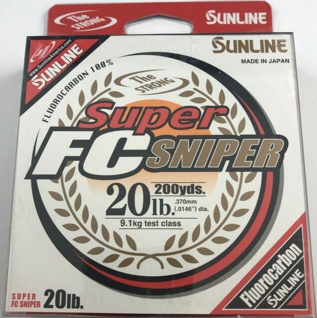 Clear select test Sunline Super FC Sniper 660 YARD SPOOL