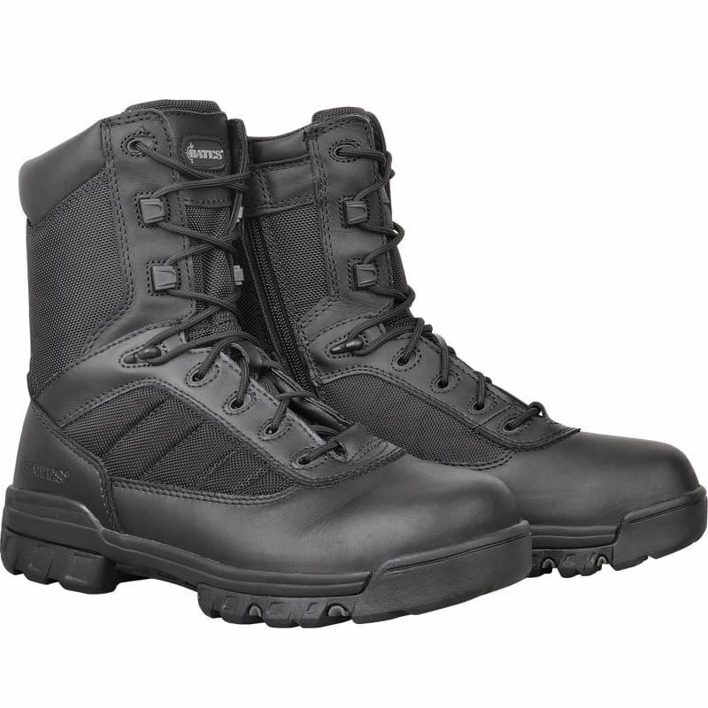 Bates 8  Tactical Sport Patrol Boots with side zip - E02261
