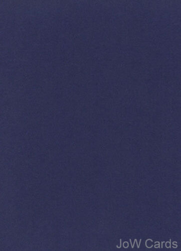 10 A4 Sheets Navy Blue Smooth Card Great Quality 240gsm