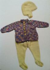 3827ab761db8 Plymouth Knitting Pattern P601 Jelli Beenz Kids Pullover   Cardigan ...