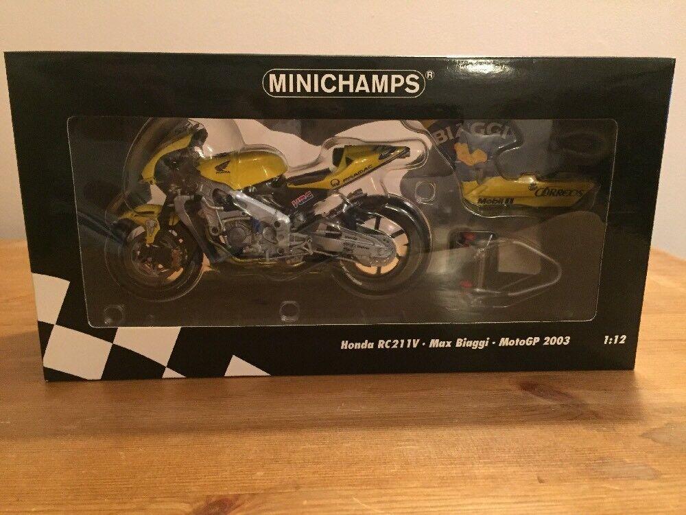 Minichamps Honda RC211V M Biaggi 200 122 037103