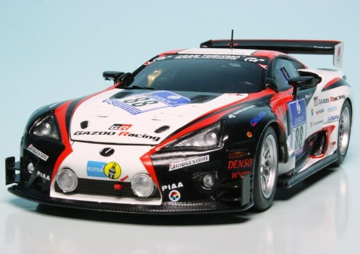 Minichamps 1 43   Lexus LFA race-car Team Gazoo Racing  24h Nürburgring 2011