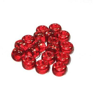 Plastic Crow Beads Ivory 9mm 1000 Pack