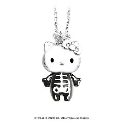 04904682c Details about New Justin Davis x Sanrio Hello Kitty SNJ 3300 Skeleton Kitty  Necklace JAPAN F/S