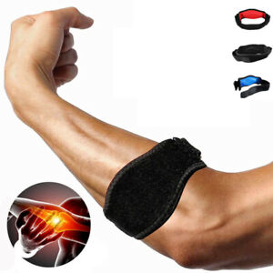Tennis-Elbow-Brace-Strap-Tendonitis-Carpal-Tunnel-Golfers-Relief-Support