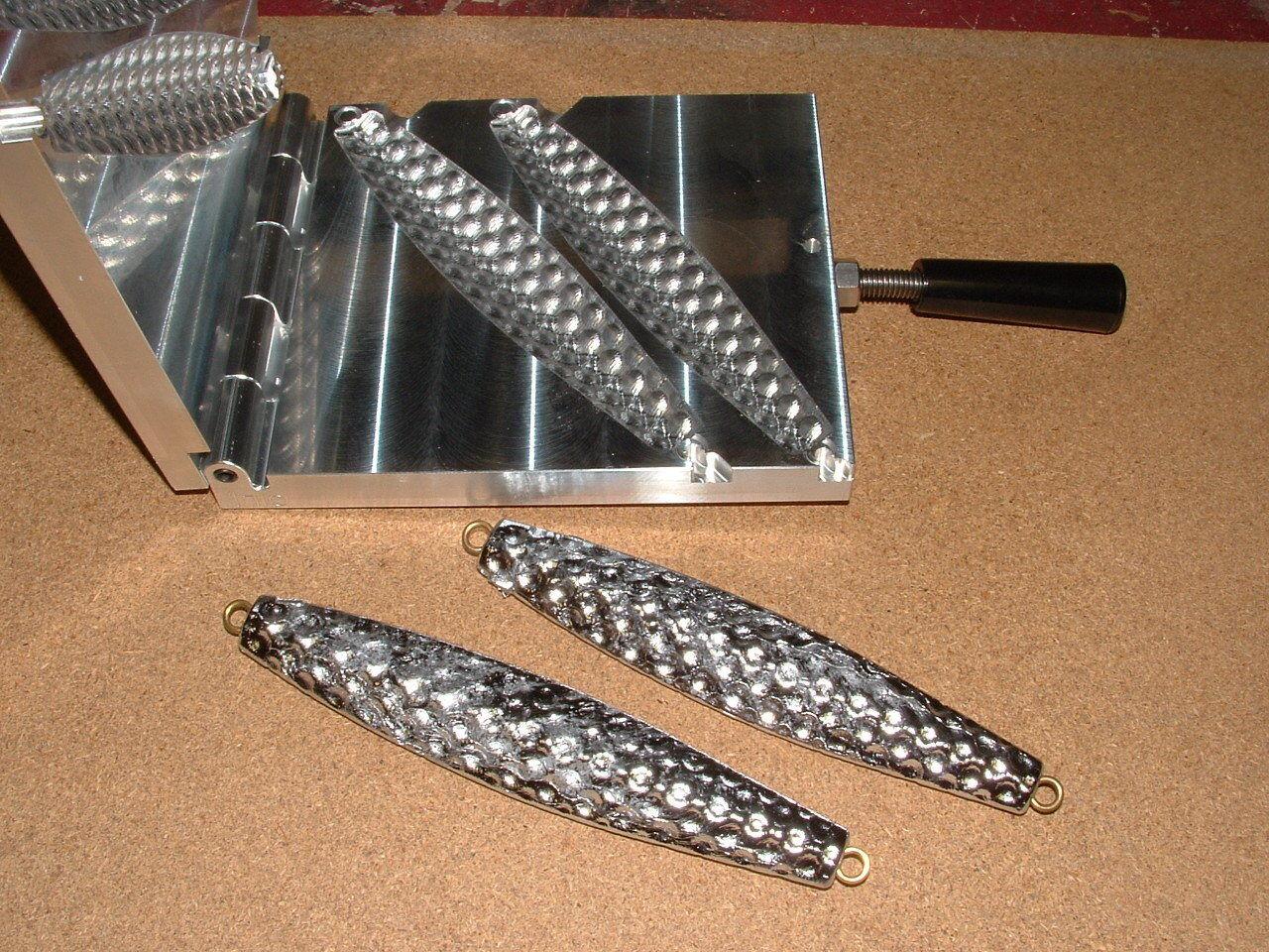 Saltwater D Jig-3 Bumpy Moule 14, 16 oz (environ 453.58 g) CNC Aluminium Diamond