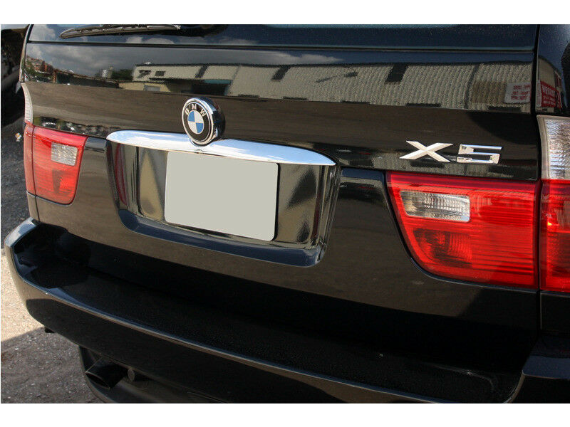 * CHROME Rear Trunk Boot Lid Trim Cover For BMW X5 E53 00-06 Car & Truck Parts